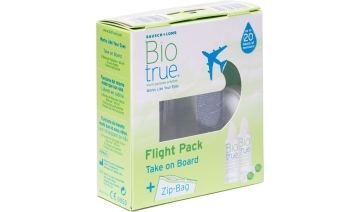 Líquits de manteniment Biotrue Flight Pack Òptica Activa